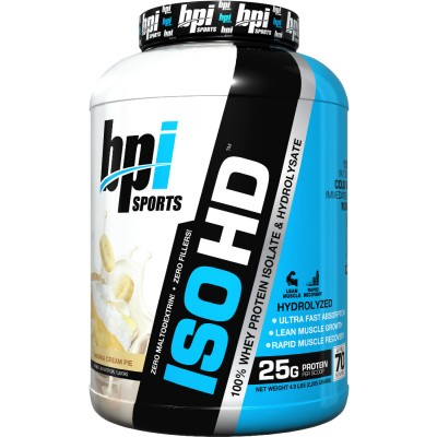 BPI Sports ISO HD 4.9lbs: $49.99 + FREE T-SHIRT AND SHAKER!