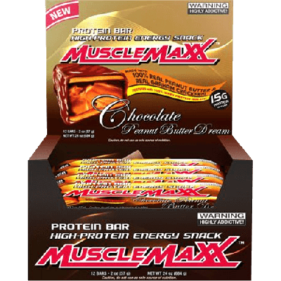 MuscleMaxx Protein Bars Buy 1 Get 1 FREE!