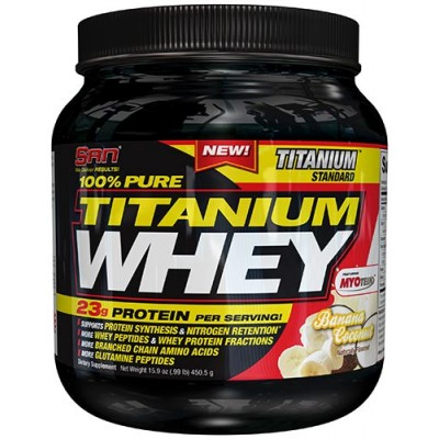 S.A.N. Titanium Whey Protein 1lb Buy 1 Get 1 Free