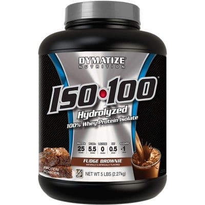25% Off Dymatize ISO-100 5lbs Protein Isolate
