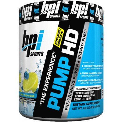 BPI Sports Pump HD Buy 1 Get 1 FREE