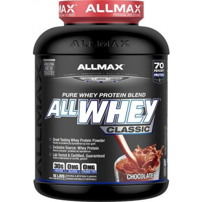 AllMAX AllWhey Classic 5lbs $32.99 + Free T-Shirt