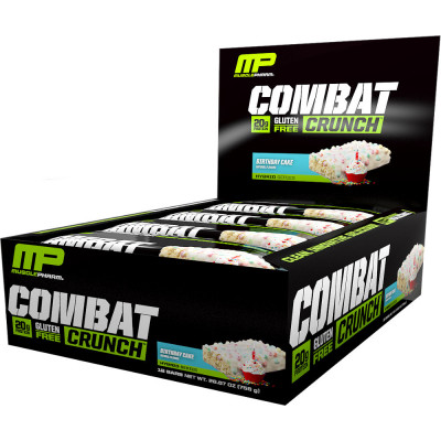 FREE 5lbs Gainer with MP Combat Crunch Bars