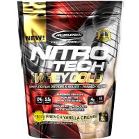Nitro-Tech 100% Whey Gold, 1lb