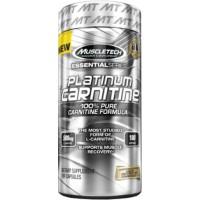 Platinum 100% Carnitine, 180 Caps