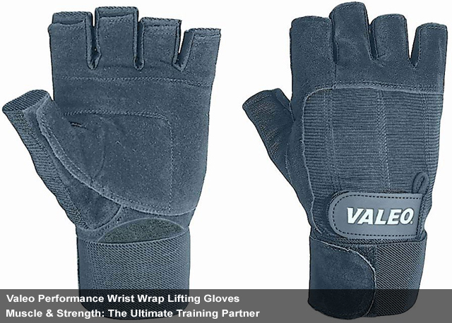 Performance Wrist Wrap Lifting Gloves