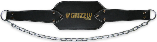 Grizzly Fitness Leather Dipping Belt
