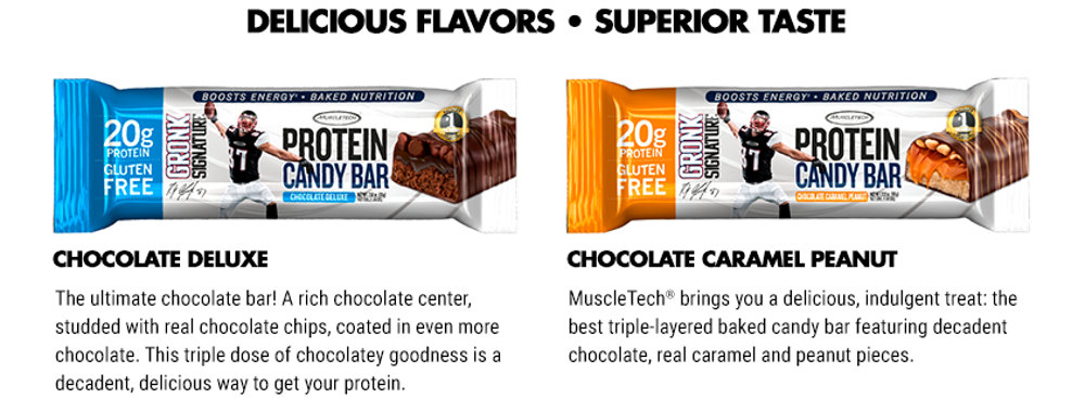 Gronk Signature Protein Candy Bar by MuscleTech: Lowest ...