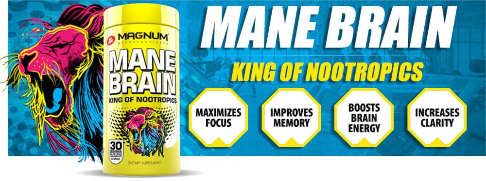 Image result for magnum mane brain