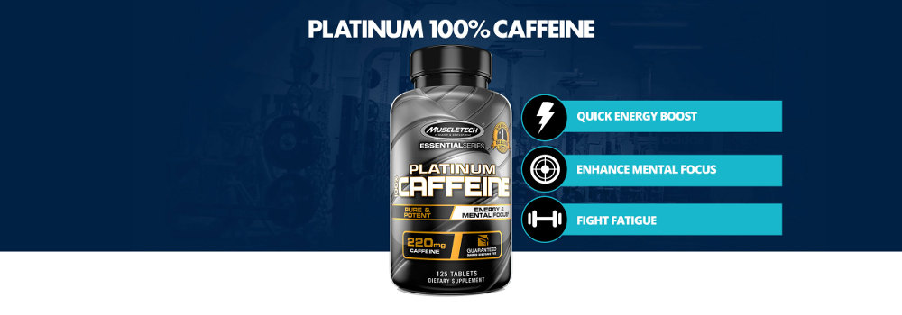 Platinum 100% Caffeine by MuscleTech: Lowest Prices at Muscle & Strength