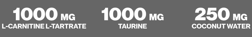 L-Carnitine Taurine Coconut Water