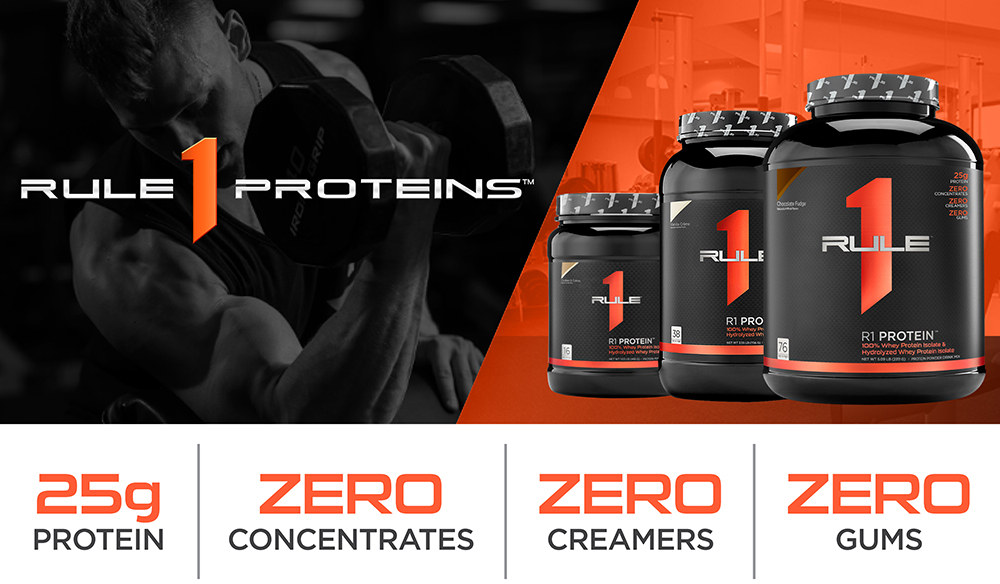 R1 Protein Isolate by Rule 1: Lowest Prices at Muscle & Strength