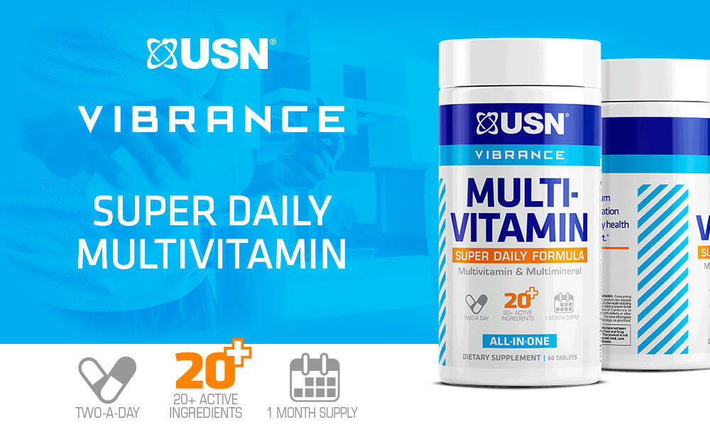 Vibrance Multivitamin by USN: Lowest Prices at Muscle & Strength