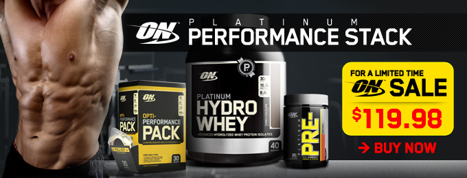 Optimum Nutrition Platinum Performance Stack