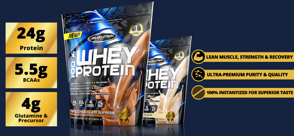 MT 100% Whey Protein Header