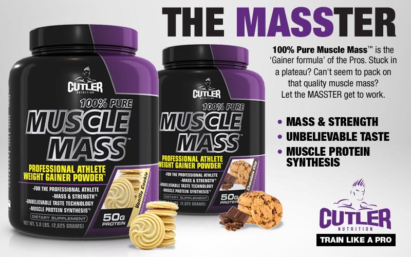 Muscle Mass header