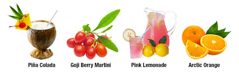 AminoCuts Flavors