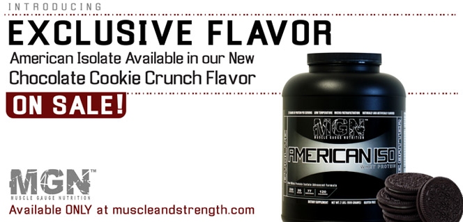 American Iso Exclusive Flavors