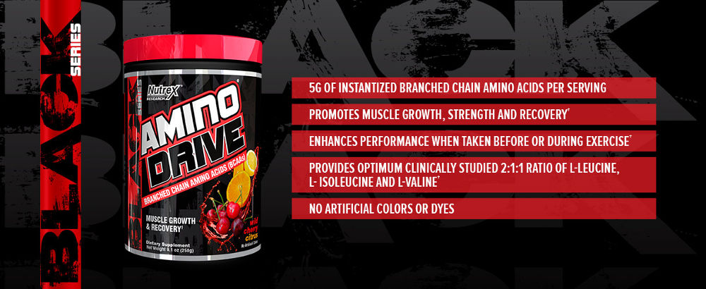Amino Drive Facts