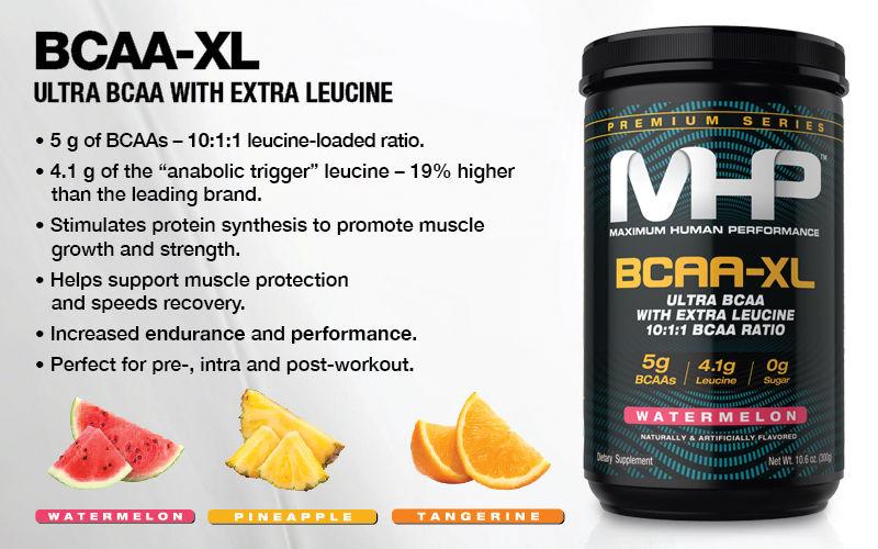 MHP BCAA-XL Banner