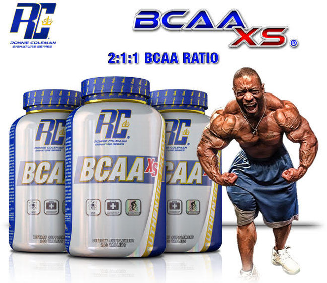 Image result for Ronnie Coleman BCAA-XS