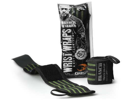 GASP Branch Warren Wrist Wraps