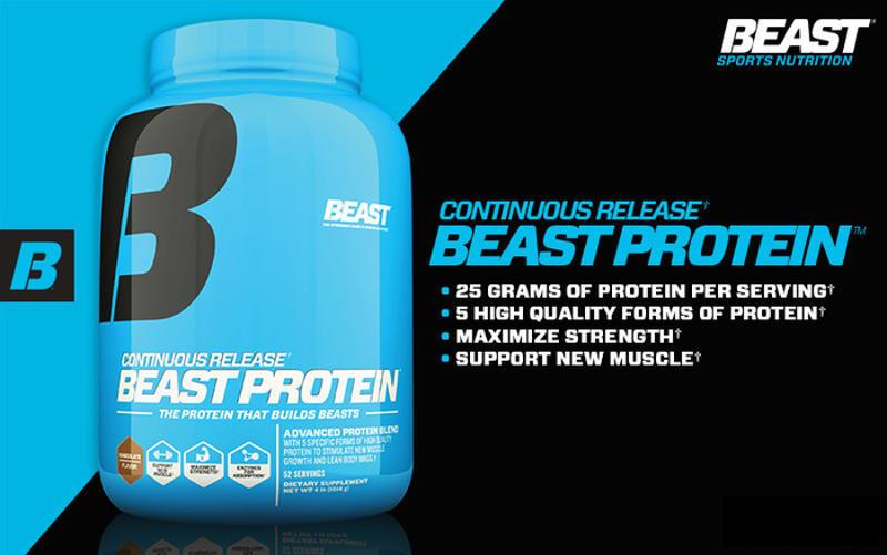 Beast Protein Banner