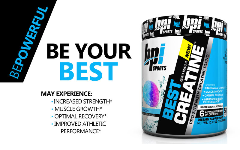BPI Sports Best Creatine Monohydrate Header