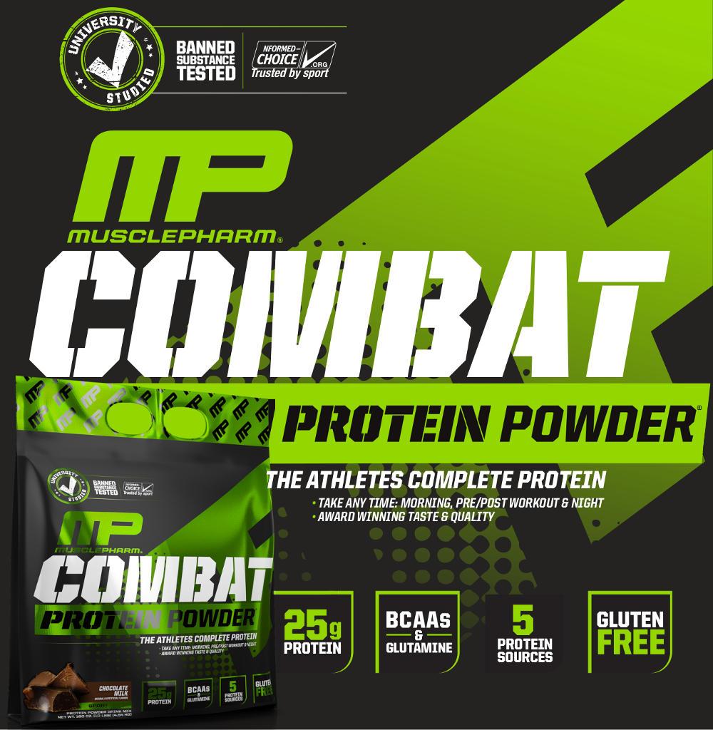 Combat Protein Powder Banner
