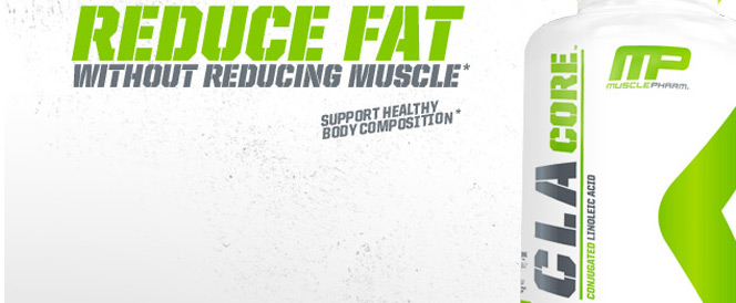 MusclePharm CLA Core Banner