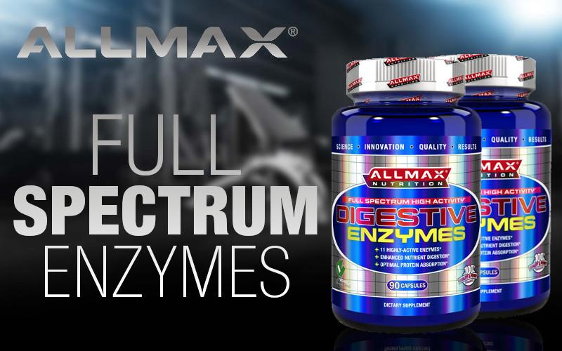 Allmax Digestive Enzymes Header