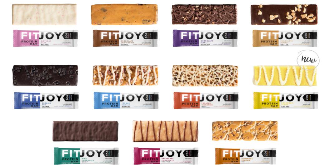 fitjoy flavor texture banner