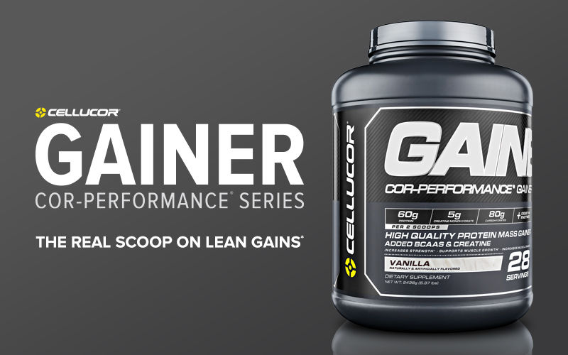 Cellucor Cor-Performance Gainer Header