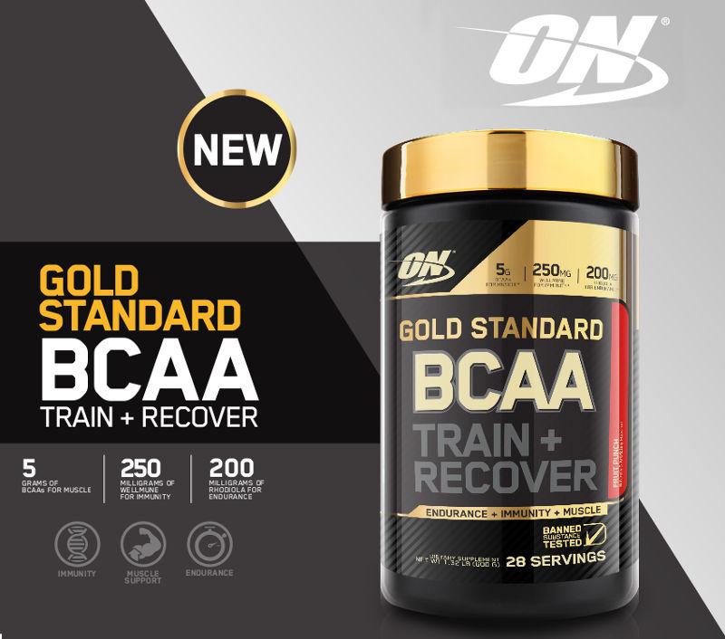 Gold Standard BCAA Header Image