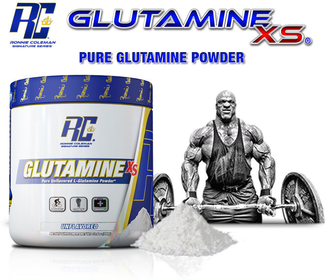 Image result for Ronnie Coleman Glutamine-XS