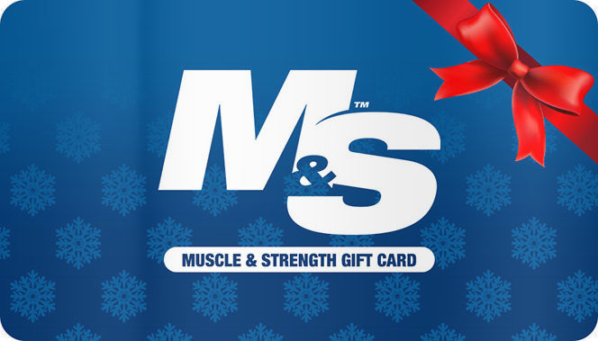 muscle and strength gift card