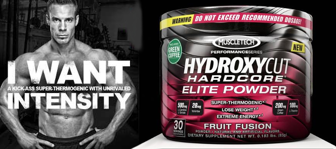 MuscleTech Hydroxycut Hardcore Elite India