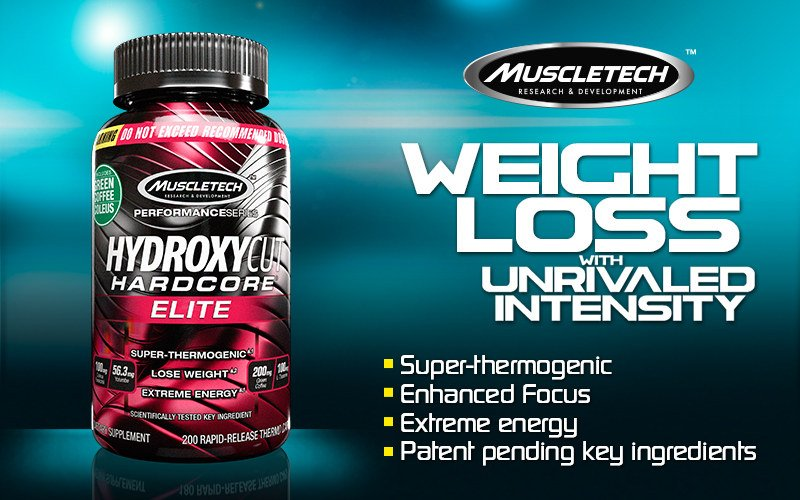 Hydroxycut Hardcore Elite header