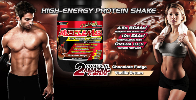 MuscleMaxx High Energy Protein Shake