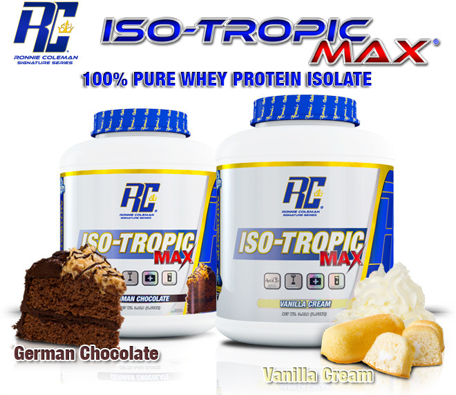 Ronnie Coleman Iso-Tropic Max Header
