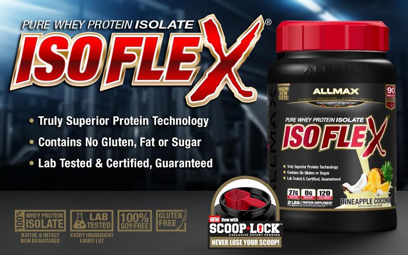 AllMAX IsoFlex Header