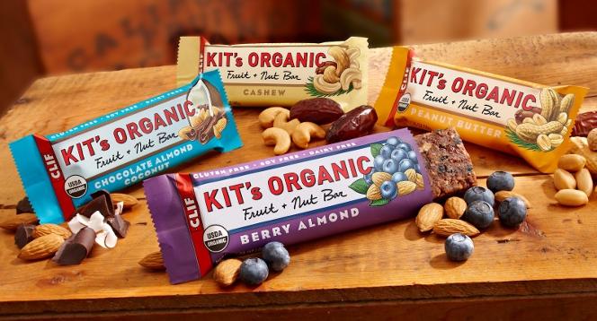 Clif Kit's Organic Fruit & Nut Bars