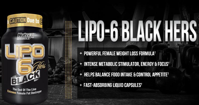 Lipo 6 Black Hers