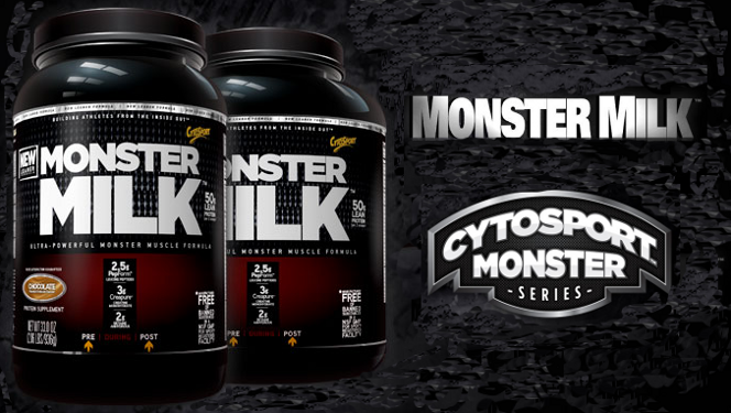 CytoSport Monster Milk Footer