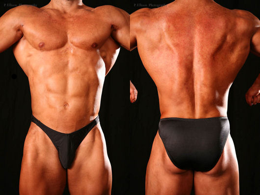 Men's Standard Cut Posing Trunks