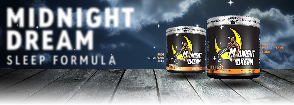 midnight dream sleep formula banner two