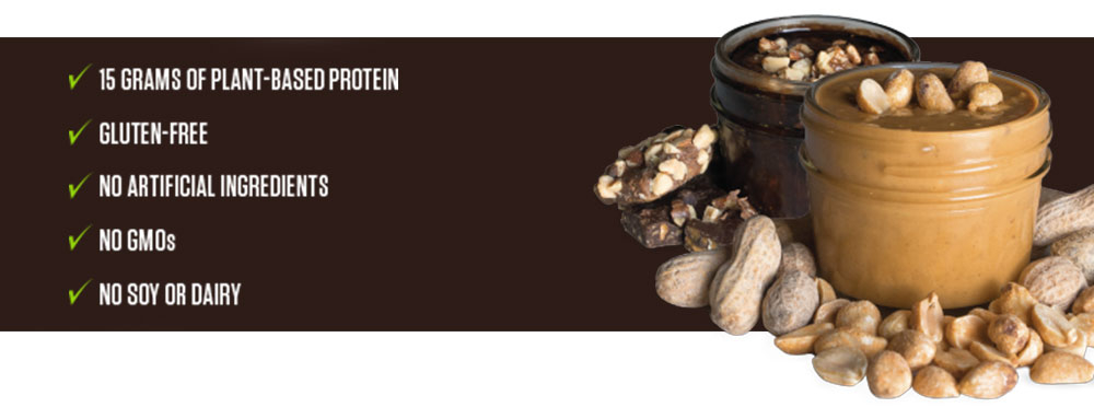 organic protein bar features