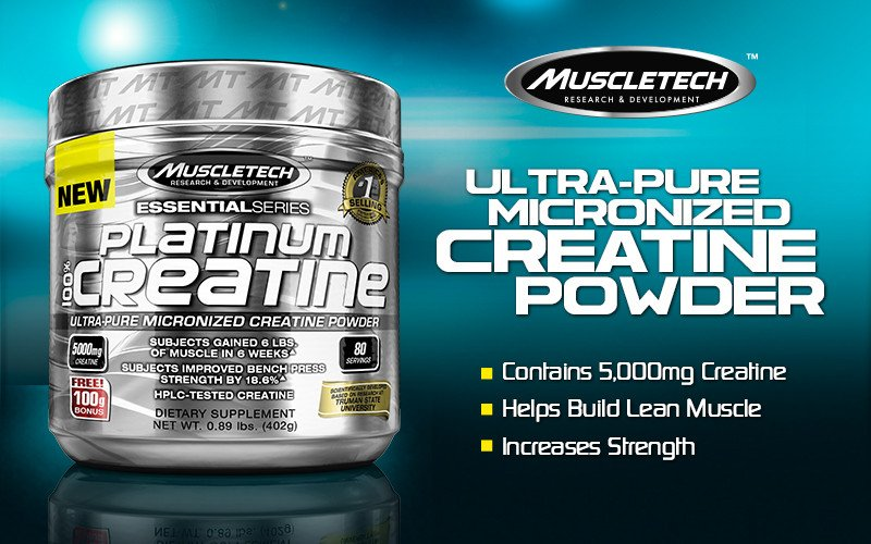 Platinum 100% Creatine by MuscleTech: Lowest Prices at