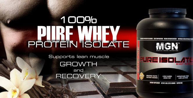 MGN Pure Whey Protein Isolate