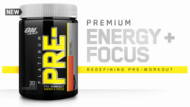 Optimum Nutrition Platinum Pre- Banner
